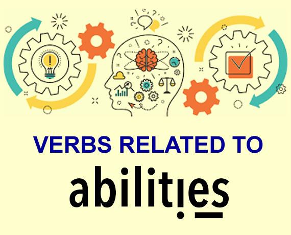 Verbos de habilidades