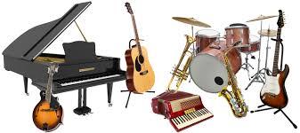 Instrumentos musicais em inglês
