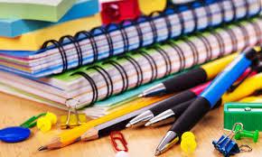 Materiais escolares em inglês