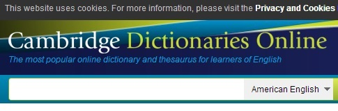 Cambridge On-line Dictionaries