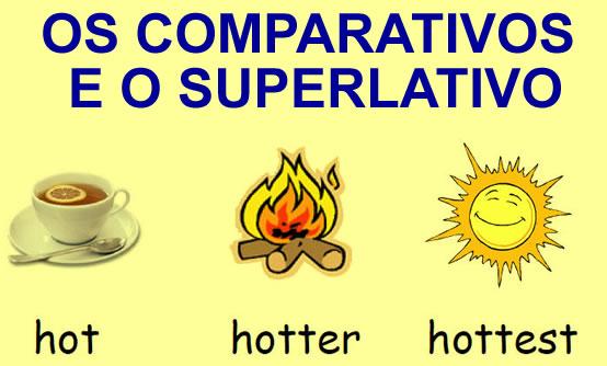 Os Comparativos e o Superlativo