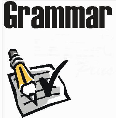 Iniciando o estudo da gramática