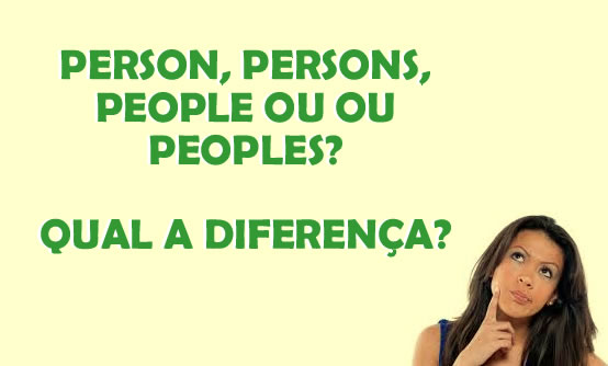 Person, persons, people ou peoples?