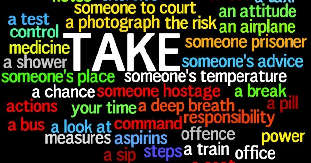 Collocations with ´take´